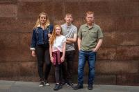 Rhys Stone, Katie Proctor, Kris Hitchen